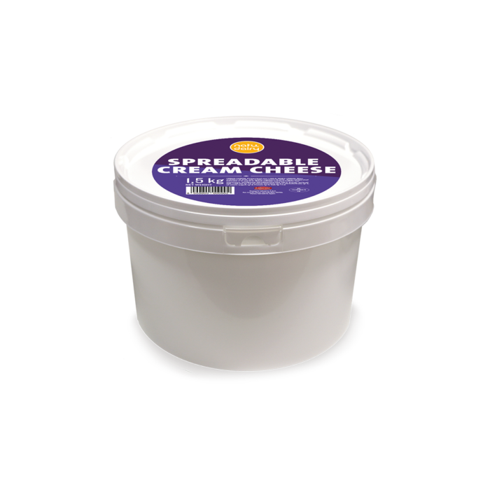 SPREADABLE CREAM CHEESE, 1.5Kg