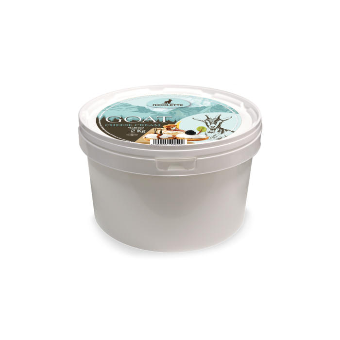 GOAT CREAM CHEESE, 2Kg
