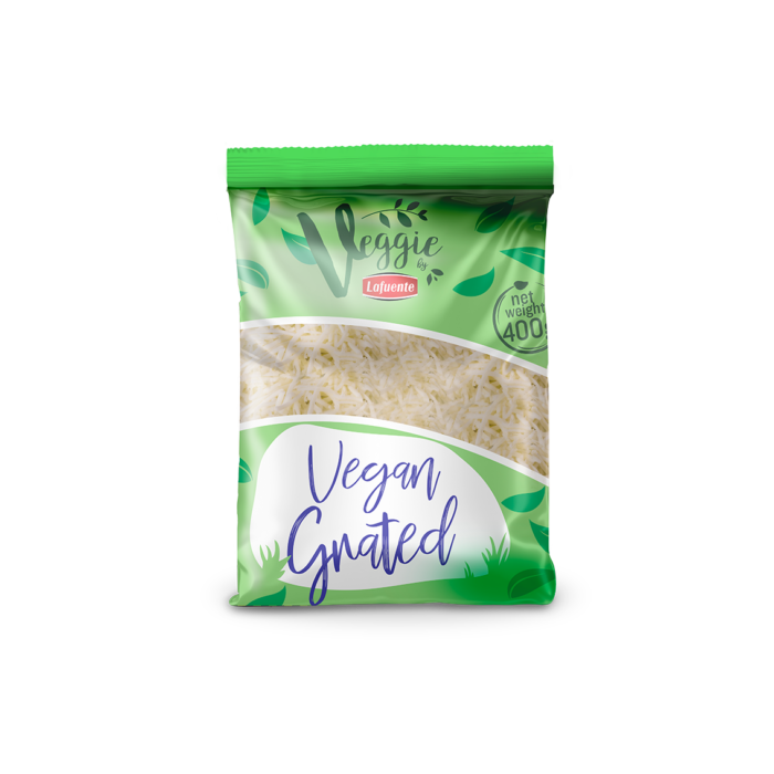 VEGAN CHEESE GRATED STRIPS, 400g