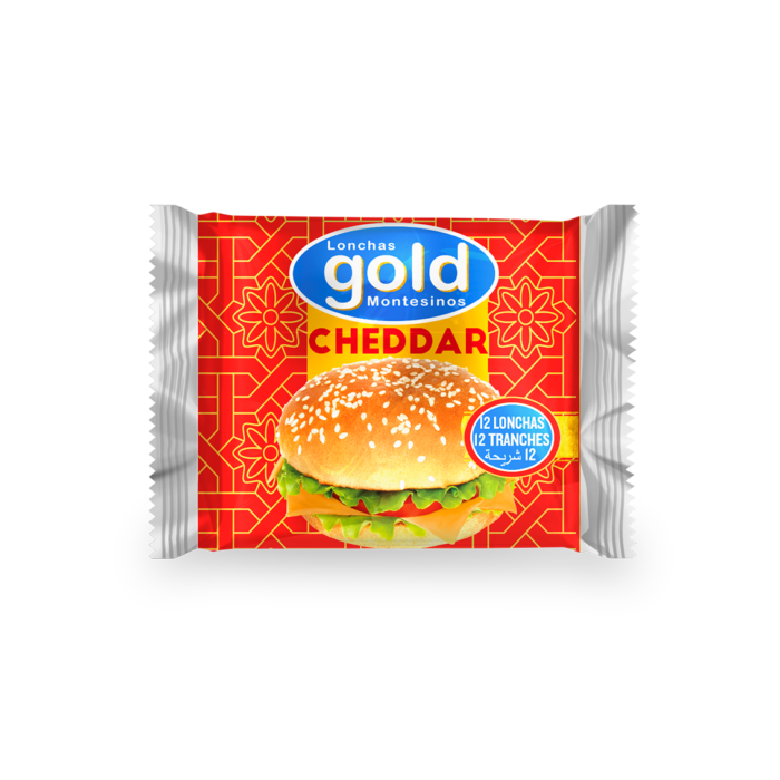 GOLD VEGETABLE FAT PROCESSED CHEESE 12 SLICES, 200g